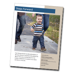Image of First Steps report cover