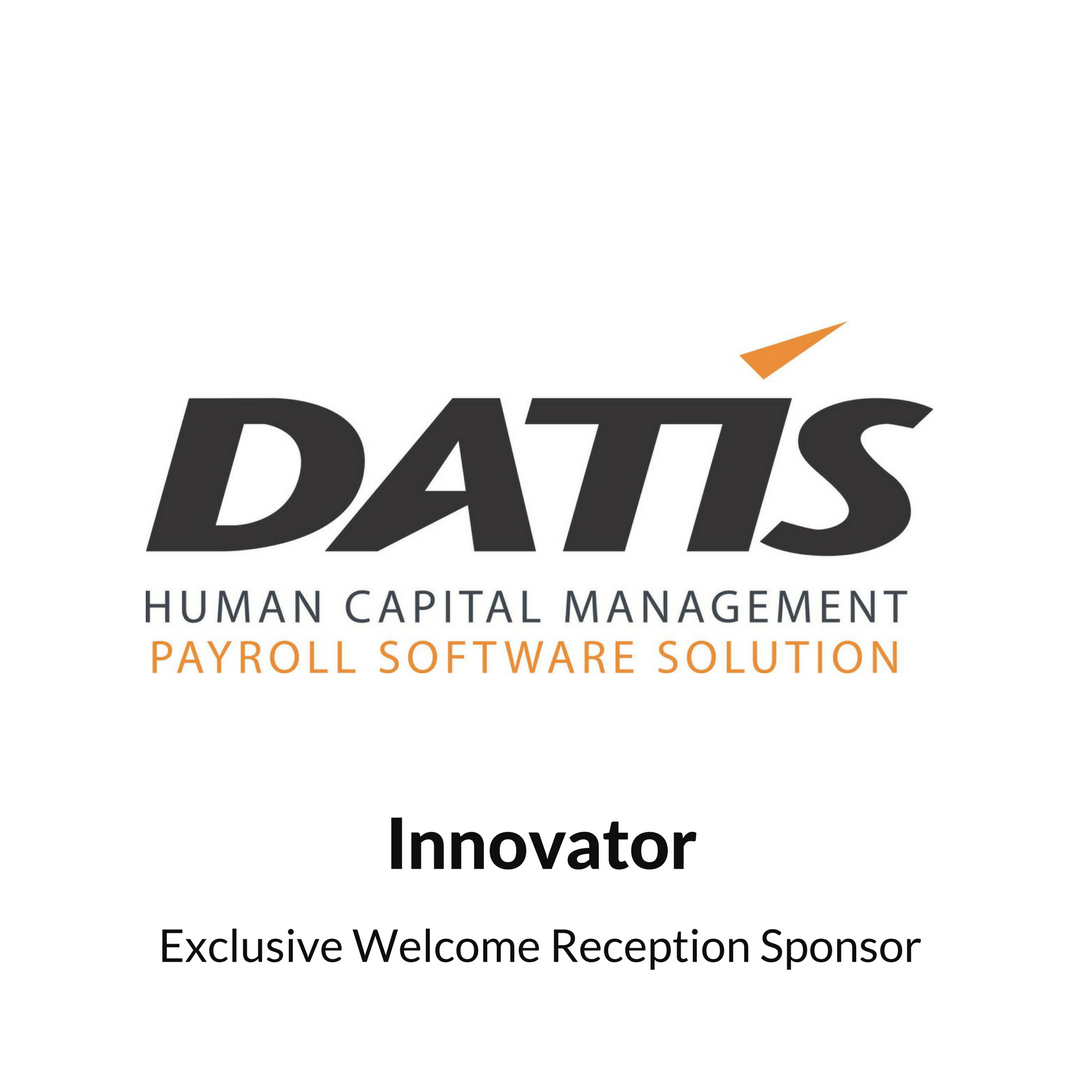 DATIS HR Cloud Welcome Reception Sponsor